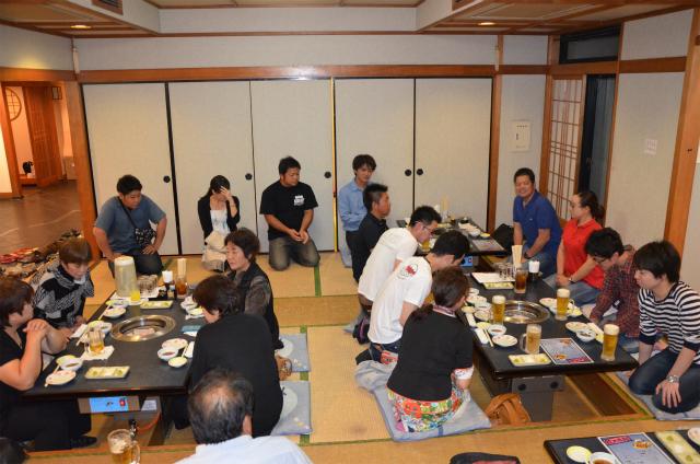 首都圏や関西のホテル・レストラン関係者との懇談会